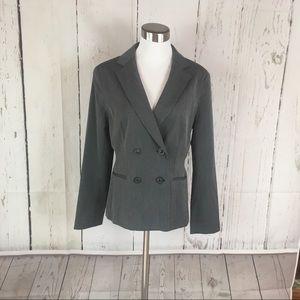 New York & Company Jacket Size 10 Grey